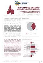 Relatório da pesquisa de perfil do consumidor da Rua 25 de Março