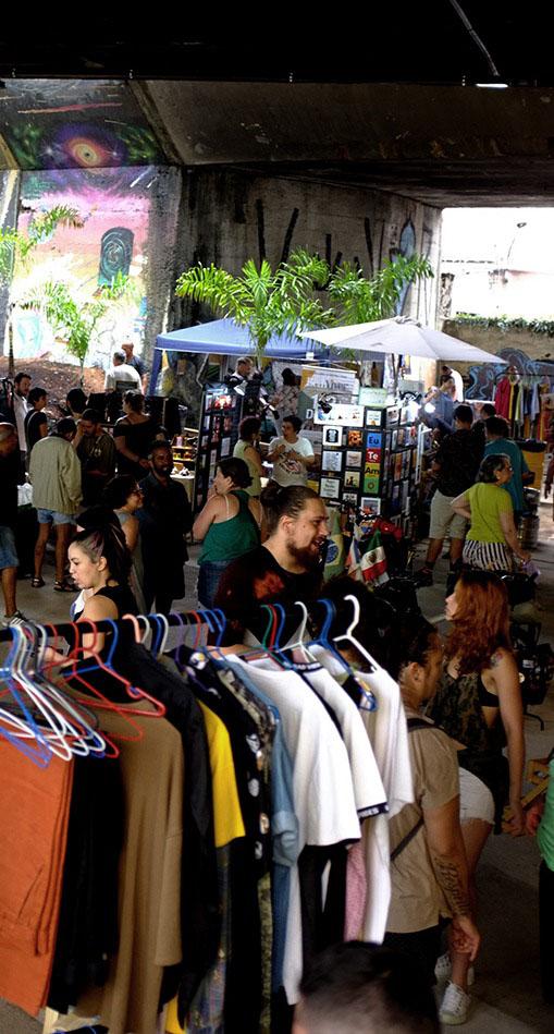Feiras de Economia Criativa e Lojas Colaborativas da Cidade de São Paulo