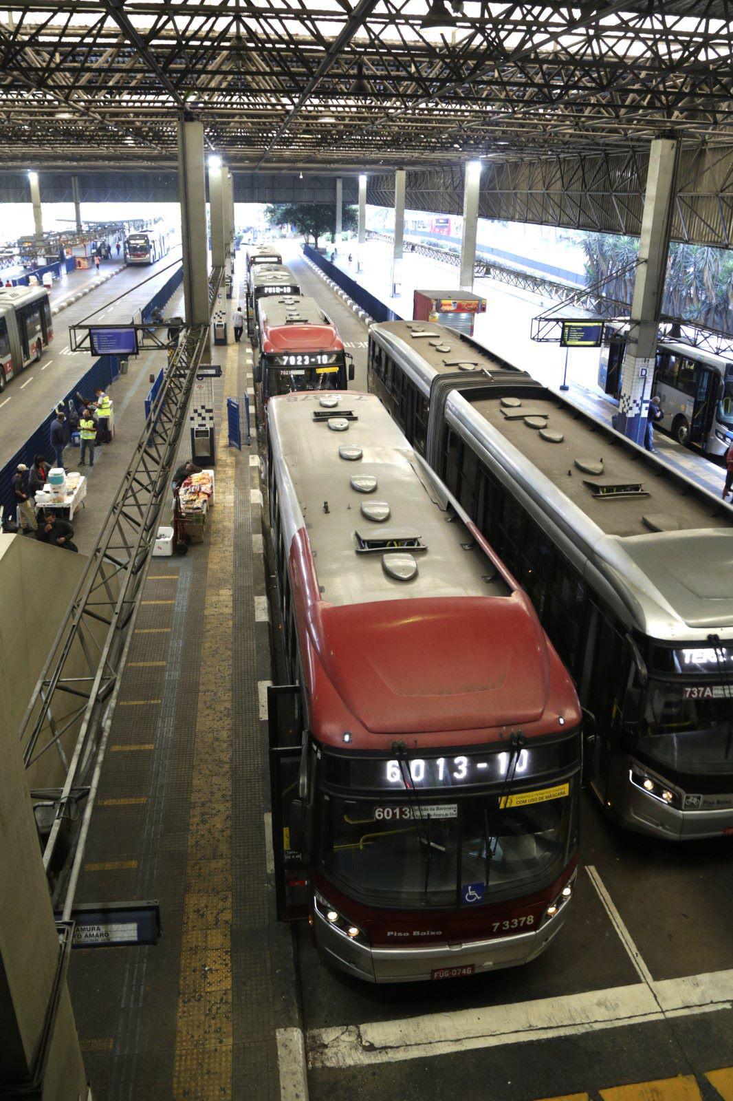 Terminais de Ônibus de São Paulo - Covid-19